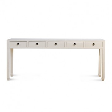 Mandarin Extra Long Console Table (Many Colors)