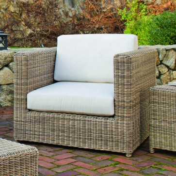 Sag Harbor Woven Modern Chat Chair