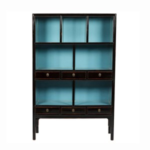 Chinoiserie Mandarin Bookcase (Many Size and Custom Finish Options)