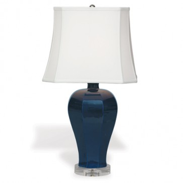 Classic Large Belair Lamp Navy Blue