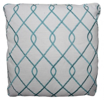 Trellis Fret Luxury Pillows (Colors)