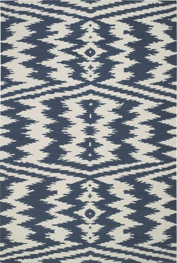 IKAT Bold Flat Weave Wool Luxury Rug (CLEARANCE SALE)