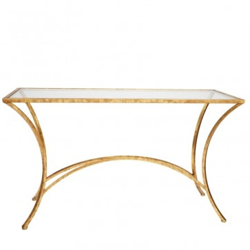Colley Classic Glass Console Table