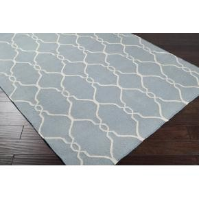 Gates Moroccan Tile Wool Rug (COLORS)