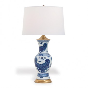 Luxury Foo Dog Table Lamp