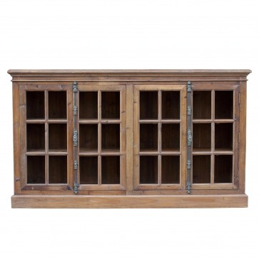 French Country Reclaimed Library Sideboard