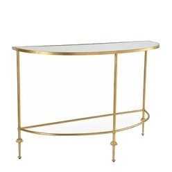 Martin French Gold Console Table NEW!