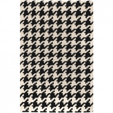 Houndstooth Rug Black & White (limited)