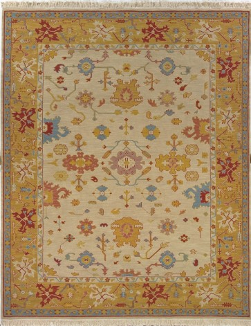 Soumak Luxury Wool Rug Cream Yellow Red Blue
