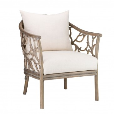 Jardin Faux Bois Driftwood Club Chair (New In Stock)