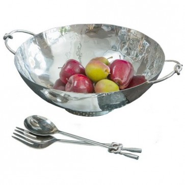 Knotted Bowl and Serving Set