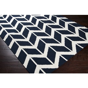 Birds of a Feather Geometric Pattern Wool Rug (colors)