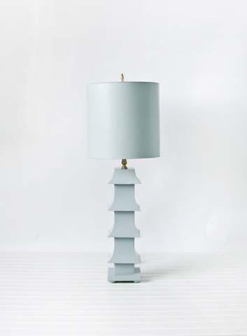 Refined Pagoda Lamp
