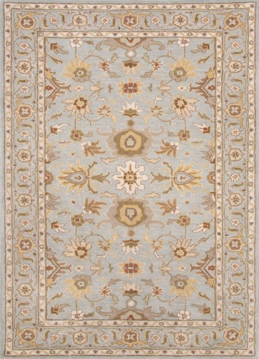 Hand Tufted Poeme Abralin Rug Sky Blue
