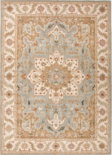 Hand Tufted Poeme Orleans Rug Blue