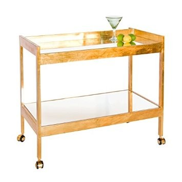 Roland Chrome or Gold Bar Cart