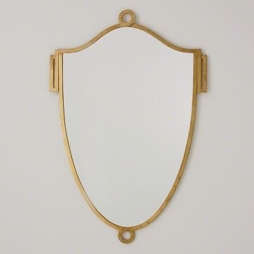 Gold Elegant Shield Mirror (sizes)