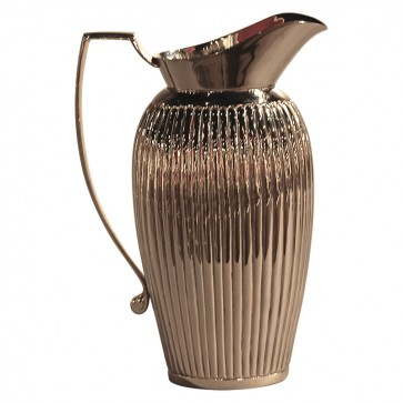 Regency Fluted Silver Water Pitcher