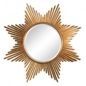 Large Gold Sunburst Star