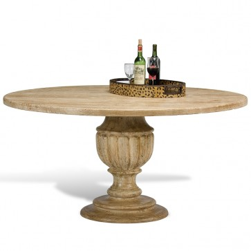 Grecian Urn Round Dining Table