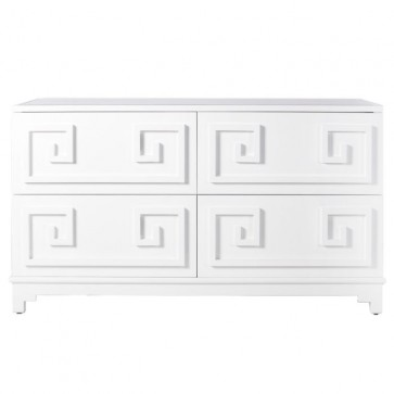 Kelly Greek Key Lacquer Dresser