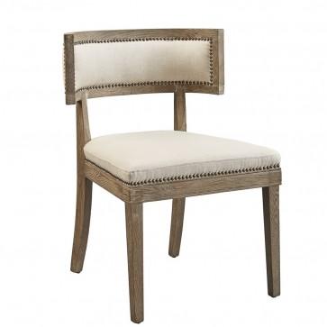 Klismos Chair Dining Chair (Whitewash New)