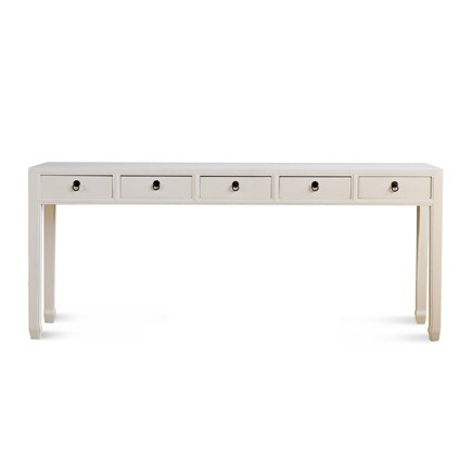 Mandarin Long Console Table