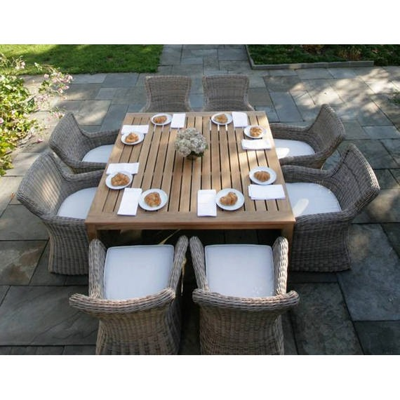 Wainscott Square Outdoor Dining Tables. Zoom