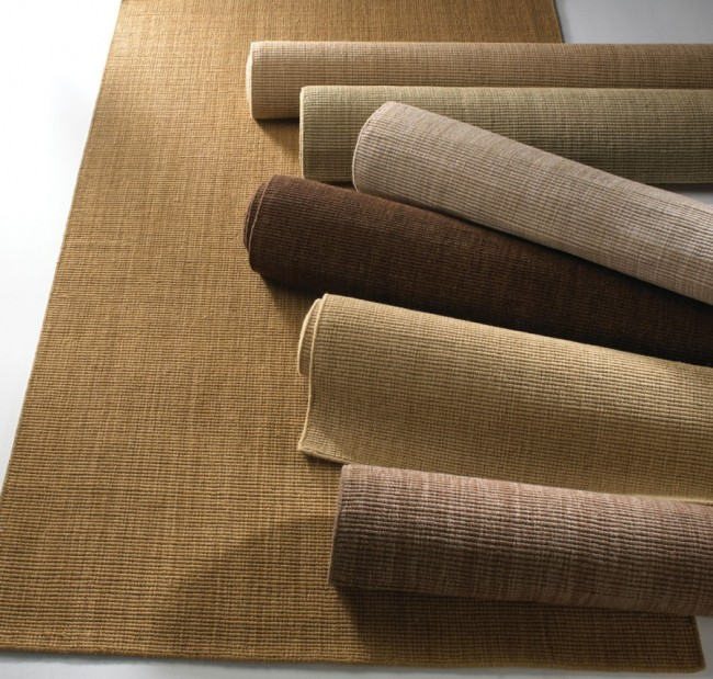 Spa Rug Soft Wool Sisal Sand