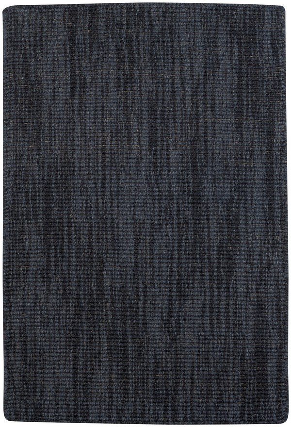 Spa Rug Soft Wool Coal Charcoal Gray