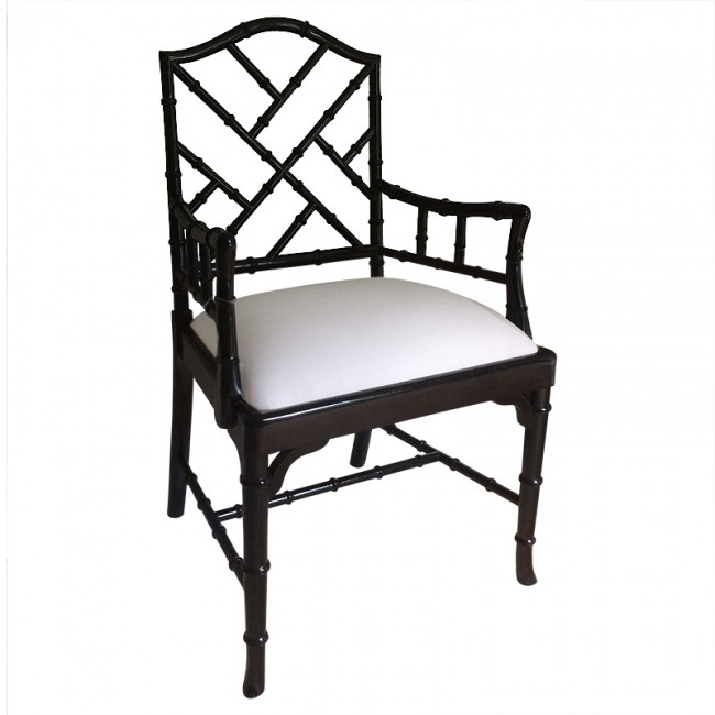 Exellent Dining Arm Chairs Black N On Decorating