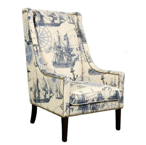 Manchester Club Tall Wing Chair