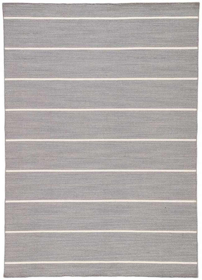 Nantucket Wool Striped Gray