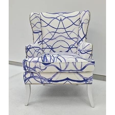 custom club chairs. Custom Fabric Wing Club Chair (Custom Luxury) Chairs O