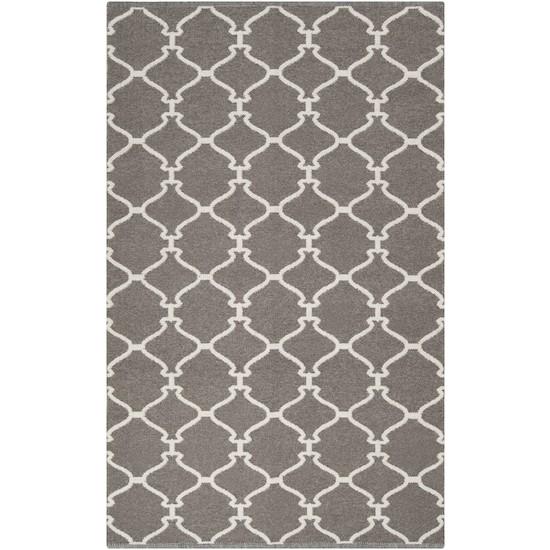 Pewter Moroccan Tile Rug