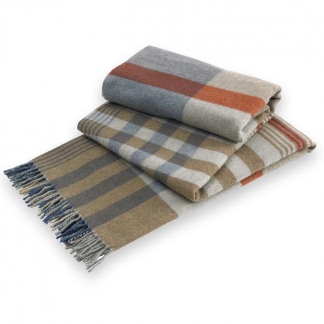 Glen Tartan Italian Lambswool Throw Blanket Amazing Italian Throw Blanket
