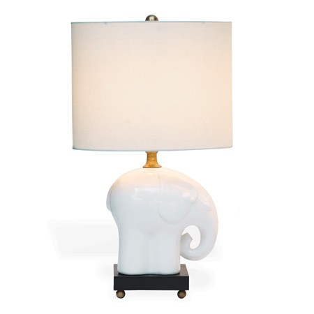 Baby Elephant Nursery Lamp
