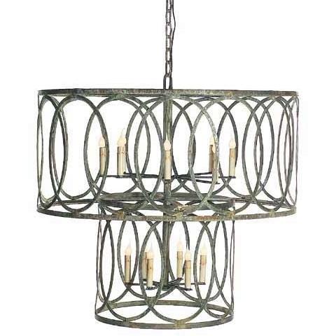 Georgina lantern chandelier large double tier weather ocean mozeypictures Gallery