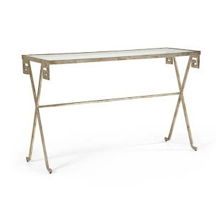 console table gold zoom