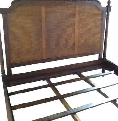 Amelie French Cane Bed Amp Headboard Custom