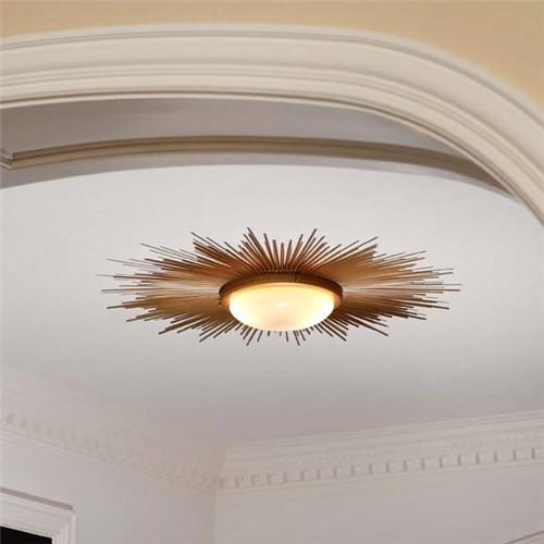 Sunburst Flushmount Light Fixture