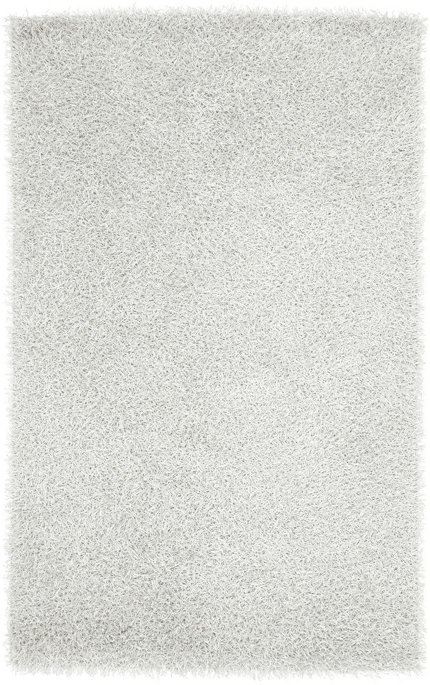 Plush Vivid Luxury White Shag Rug