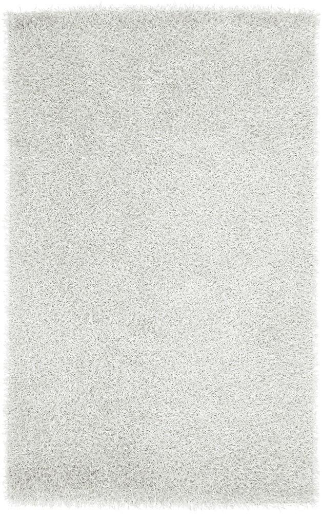 Plush Vivid Luxury White Shag Rug