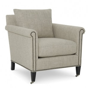 Astor Classic Custom Fabric Club Chair