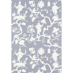 Shantung Silhouette Print Wallpaper
