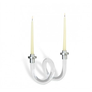 Lucy Acrylic Loop Candlesticks