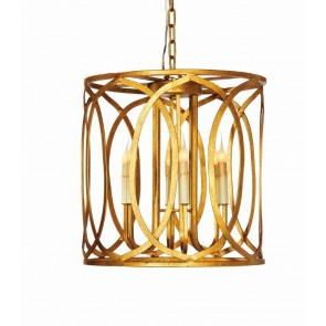 "18"" Single Gold Rustic Gold - NEW MODERN LIGHT HOLDERS, CLASSIC CANDLES"