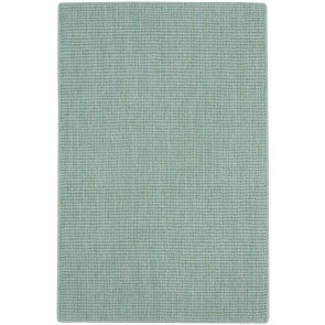 Spa Rug Soft Wool Seafoam