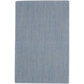 Spa Rug Soft Wool Cloud Blue
