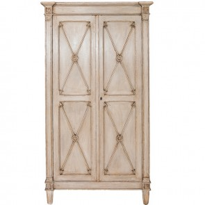Directoire Copper Arrow Cabinet Armoire